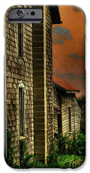 Rural Decay Digital Art iPhone Cases - Ill Take Everything iPhone Case by Lois Bryan