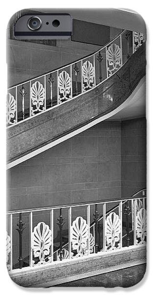 Illinois State University Williams Hall Stairway iPhone Case by University Icons