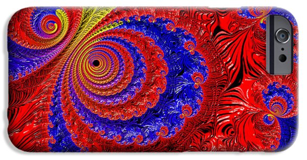 Graphic Design iPhone Cases - Illusions iPhone Case by HH Photography of Florida