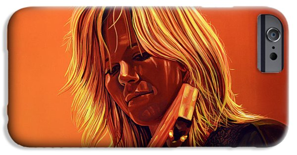 Miracle iPhone Cases - Ilse DeLange iPhone Case by Paul  Meijering