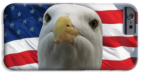 Politician iPhone Cases - Im an Eagle Dammit iPhone Case by Darin Volpe