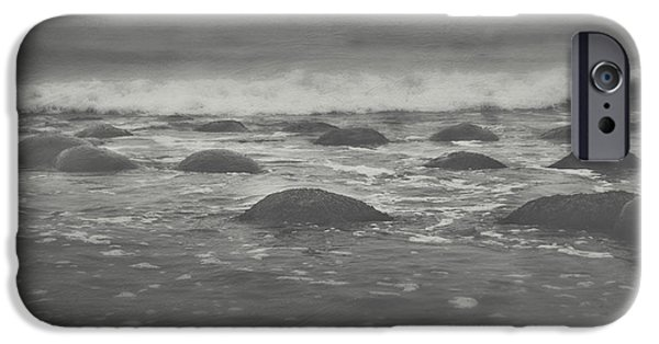 Incoming Tide iPhone Cases - Im Going Under iPhone Case by Laurie Search