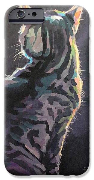 I'm Not Listening iPhone Case by Kimberly Santini