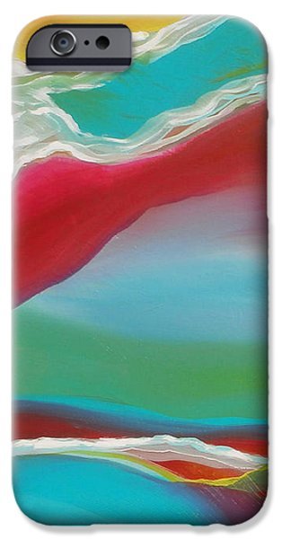 Brain Paintings iPhone Cases - Imagination 1 iPhone Case by Karyn Robinson
