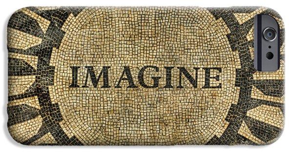 Beatles iPhone Cases - Imagine - John Lennon iPhone Case by Lee Dos Santos