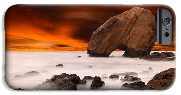 Santa Cruz iPhone Cases - Imagine iPhone Case by Jorge Maia