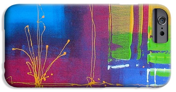 Business Paintings iPhone Cases - Imagine iPhone Case by Louise Adams