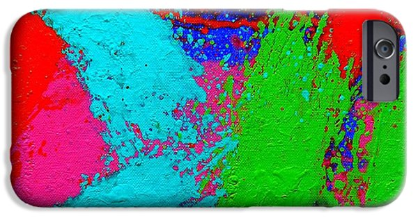 Celebration Paintings iPhone Cases - Imma      Ix iPhone Case by John  Nolan