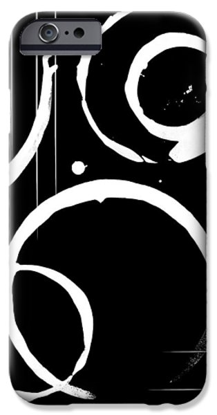 Abstract Digital Mixed Media iPhone Cases - Immortality iPhone Case by Melissa Smith