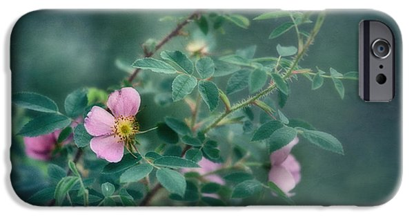Rose iPhone Cases - Imperfect Beauty iPhone Case by Priska Wettstein