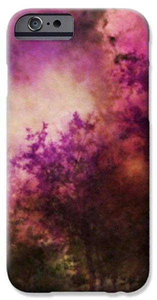 Impressionism Style Landscape iPhone Case by Maggie Vlazny