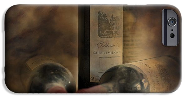 Vino Photographs iPhone Cases - In a Corner of a Wine Cellar iPhone Case by Nomad Art And  Design