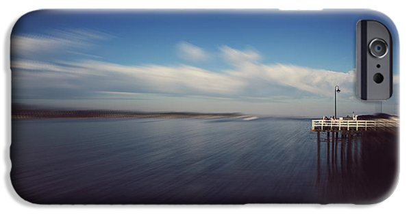 Santa Cruz Ca iPhone Cases - In an Instant iPhone Case by Laurie Search