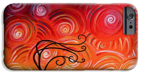 Windy iPhone Cases - In Between iPhone Case by Cindy Thornton