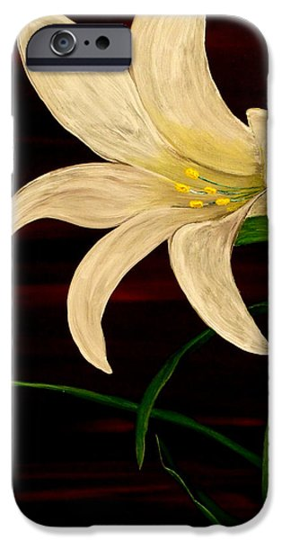 Beauty Mark Paintings iPhone Cases - In Bloom iPhone Case by Mark Moore