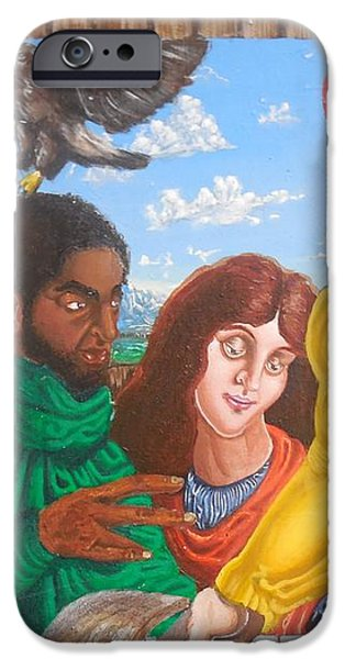 In discussion iPhone Case by Valdengrave Okumu