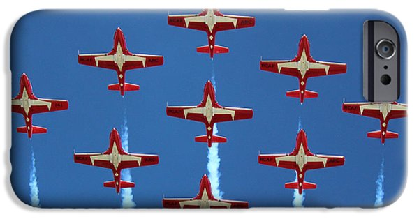 Snowbird iPhone Cases - In Formation iPhone Case by Randy Hall