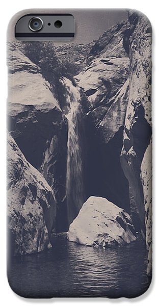 Monotone Digital iPhone Cases - In My Lifetime iPhone Case by Laurie Search