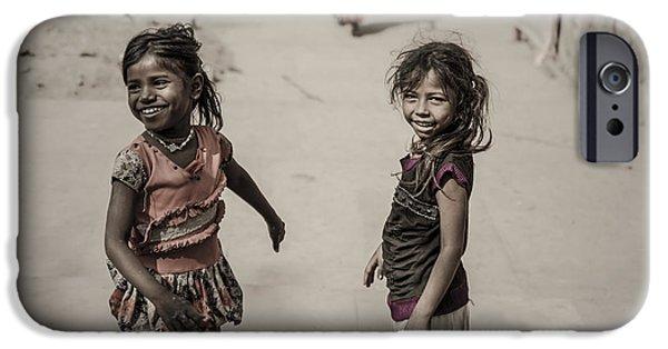 Rosen iPhone Cases - In Omkareshwar iPhone Case by Valerie Rosen