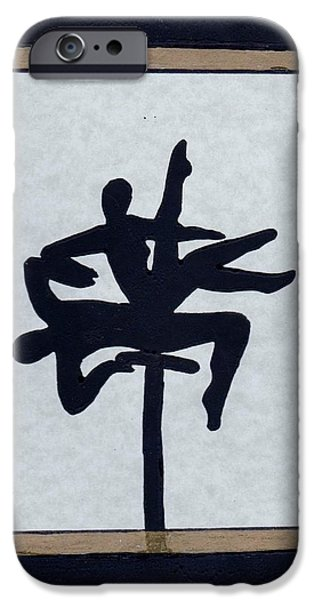 By Barbara St Jean iPhone Cases - In Perfect Balance iPhone Case by Barbara St Jean