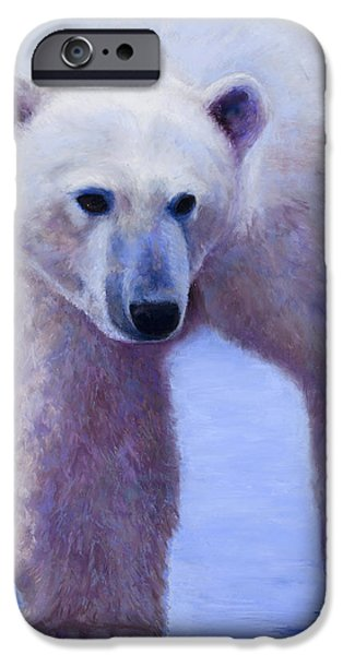 Winter Pastels iPhone Cases - In Search of iPhone Case by Billie Colson