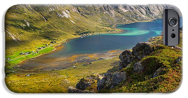 Norway iPhone Cases - In the Arctic Circle iPhone Case by Maciej Markiewicz