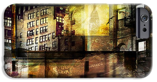 Newyork iPhone Cases - In The City iPhone Case by Jeff Klingler