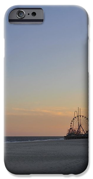 Seaside Heights iPhone Cases - In the Distance iPhone Case by Terry DeLuco