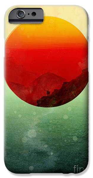 In the end the sun rises iPhone Case by Budi Satria Kwan