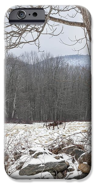 In the field iPhone Case by Bill  Wakeley