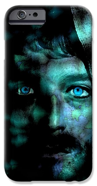 Sacrifice Mixed Media iPhone Cases - In The Garden iPhone Case by Seth Weaver