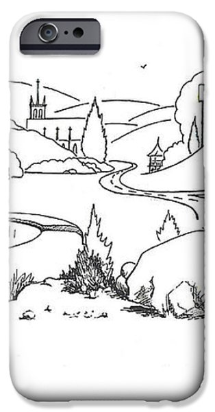 In the Land of Brigadoon  iPhone Case by Kip DeVore