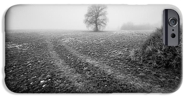 Winter Mornings iPhone Cases - In the mist iPhone Case by Davorin Mance