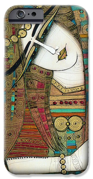 Albena iPhone Cases - In The Past... iPhone Case by Albena Vatcheva