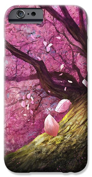 In The Shadow Of Peace iPhone Case by Steve Goad