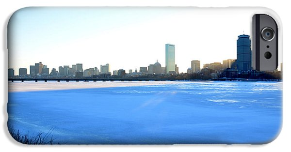 Oxford. Oxford Ma. Massachusetts iPhone Cases - In the shadow of the Pru iPhone Case by Toby McGuire