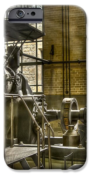 In The Ship-Lift Engine Room iPhone Case by Heiko Koehrer-Wagner