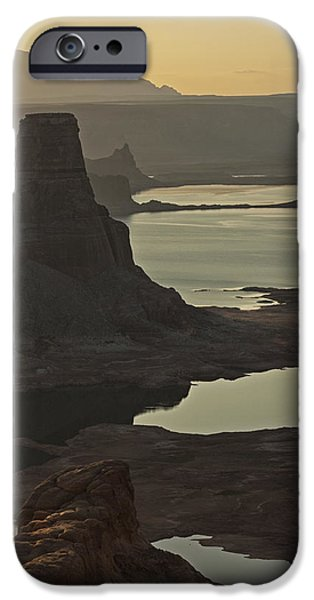 Glen Canyon iPhone Cases - In the Soft Morning Light  iPhone Case by Saija  Lehtonen