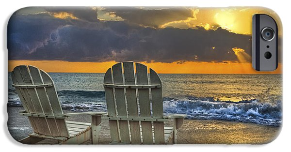 Best Sellers -  - Beach Landscape iPhone Cases - In The Spotlight iPhone Case by Debra and Dave Vanderlaan