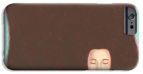 The Void iPhone Cases - In The Void iPhone Case by Judith Grzimek