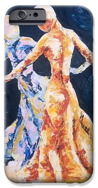 In Their Midst iPhone Case by Rhonda Falls
