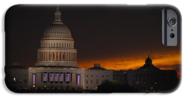 Vice President Biden iPhone Cases - Inauguration New Horizon iPhone Case by Jost Houk