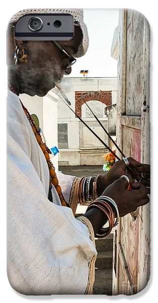 Incense for Marie Laveau iPhone Case by Kathleen K Parker