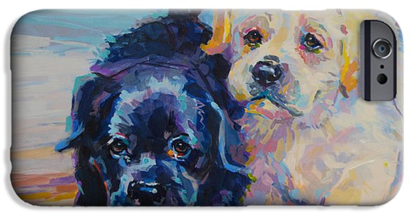 Pup iPhone Cases - Incoming iPhone Case by Kimberly Santini