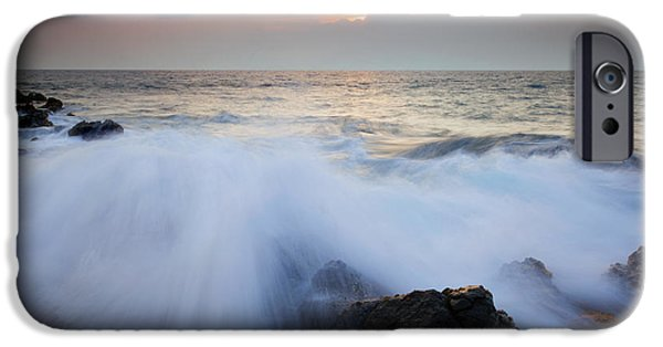 Incoming Tide iPhone Cases - Incoming iPhone Case by Mike  Dawson