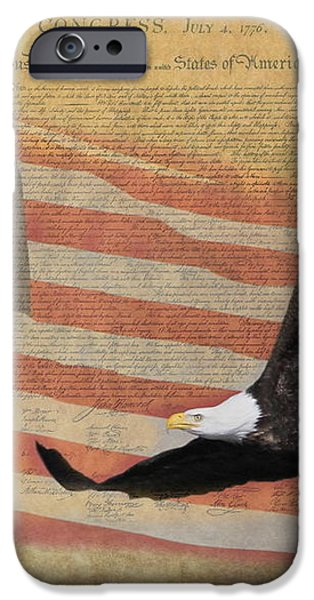 Independence iPhone Case by Angie Vogel