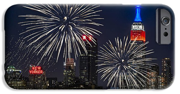 4th Of July iPhone Cases - Independence Day iPhone Case by Eduard Moldoveanu