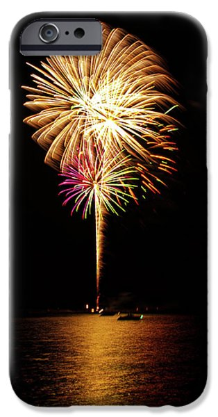 4th July Photographs iPhone Cases - Independence Day iPhone Case by George Buxbaum