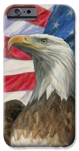 Independence Day iPhone Case by Gregory Doroshenko