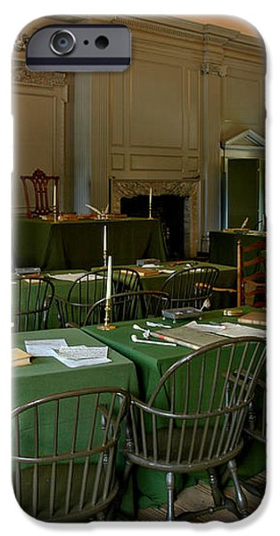 Independence Hall in Philadelphia iPhone Case by Olivier Le Queinec